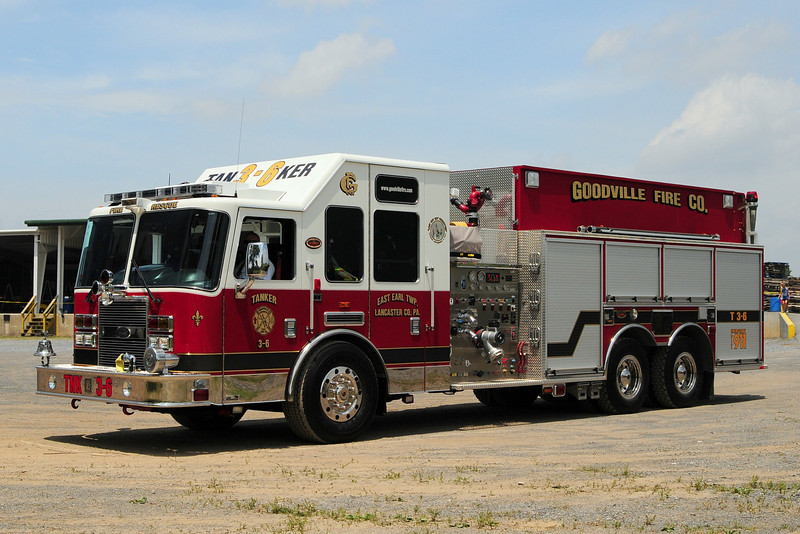 Goodville  Fire Co   Tanker  3-6    2008   KME Predator   1750/ 2500/ 30