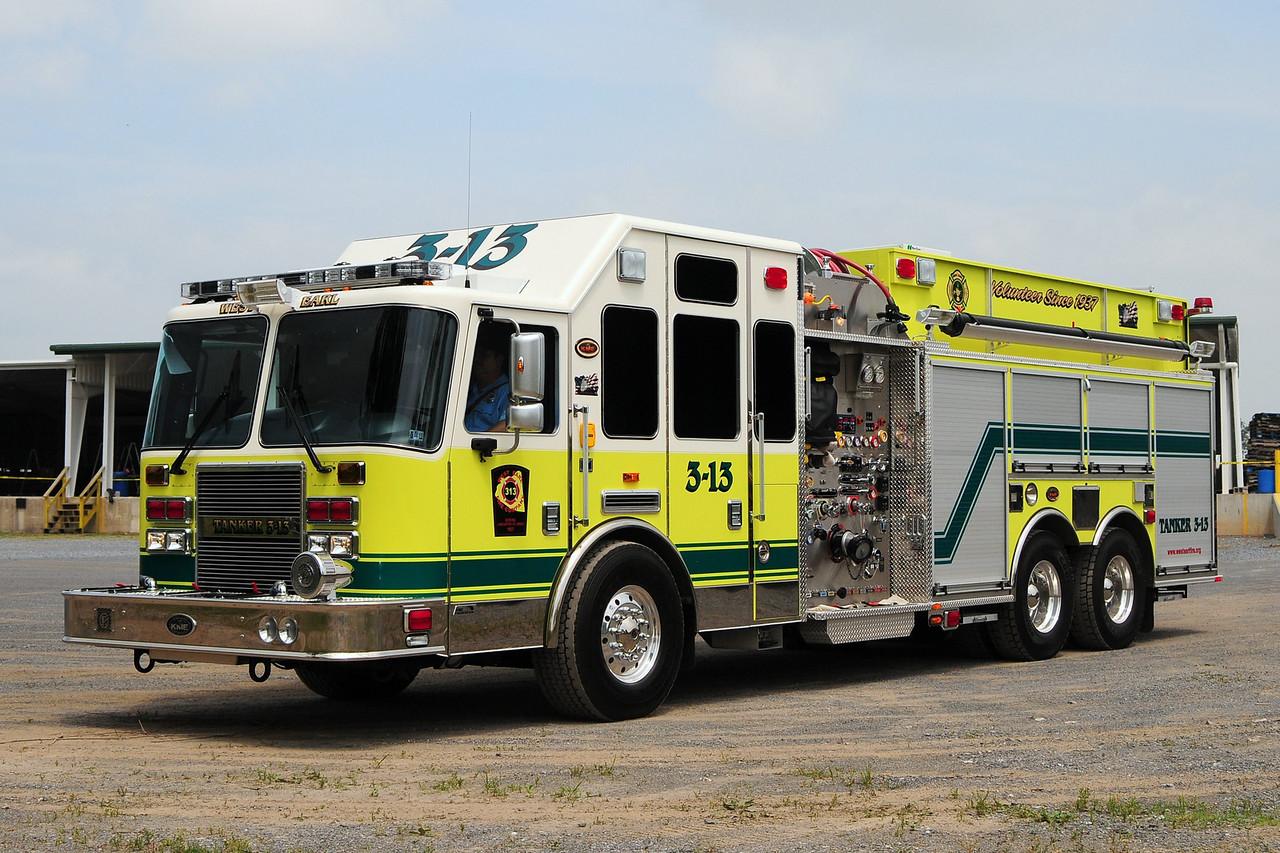West Earl Fire Co  2010 KME Predator  1750/  2500