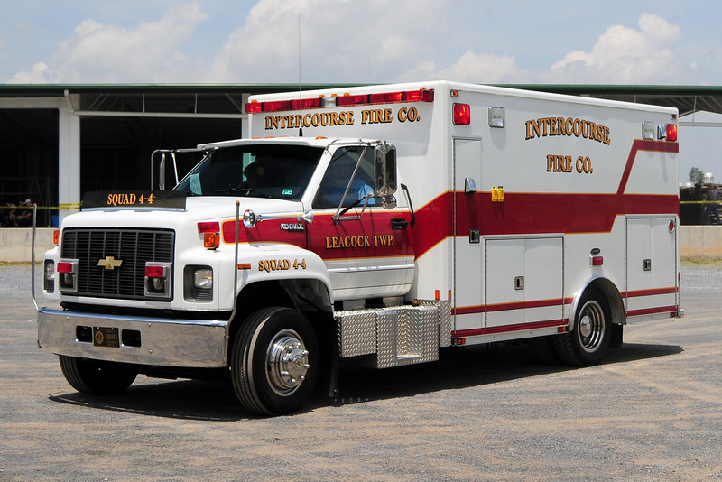 Intercourse Fire Co  Squad 4-4  1994 Chevy  Kodiak E-One Body