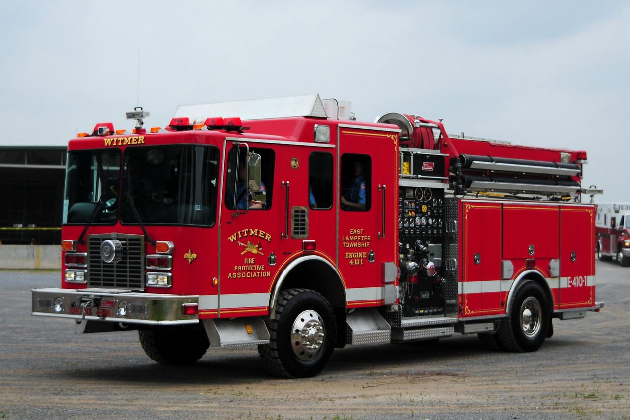 Witmer Fire Co  Engine  4-10-1   1998 HME/ New Lexington  2000/  600