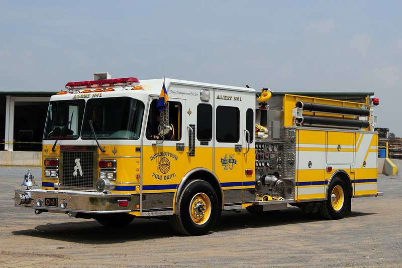 Alert Fire Co 1 od  Dowington   Engine  45  1998  Spartan / R.D. Murray  2000/ 700 / 30