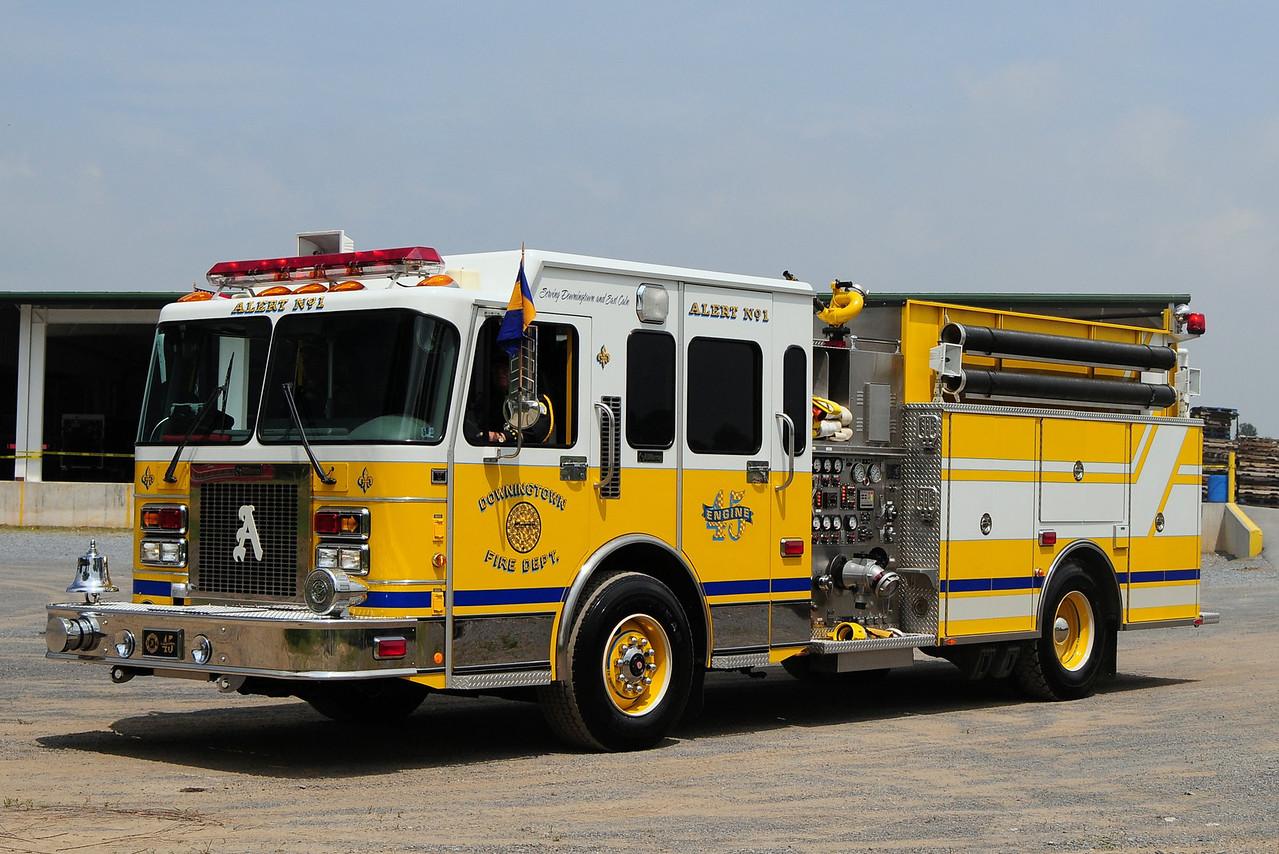 Alert Fire Co 1 od  Dowington   Engine  45  1998  Spartan / R.D. Murray  2000/ 700 / 30