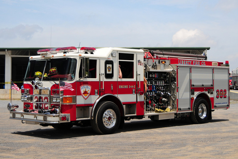 Liberty Fire Co   Engine  3-9-2    2006 Pierce  Enforcer   1750/ 750/ 30