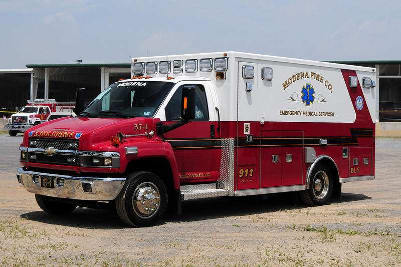 Modena Fire Co   Ambulance   37-1  2007 Chevy  C-4500 / Lifeline