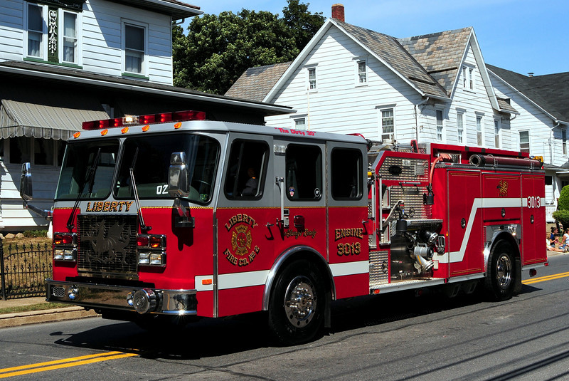 Liberty Hose Co #2  Bangor , Pa  Engine 3013  1999 Emergency-One  Cyclone  II 1500/ 750