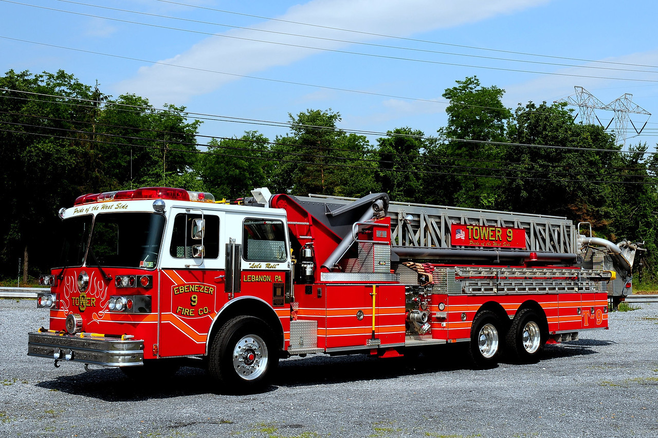 Ebenezer Fire Co Twoer  9  1986 Supthen  1500/ 300 100ft