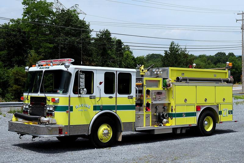 Ravine  Fire Co  Engine 2110  1990 Spartan/ Emergency-One