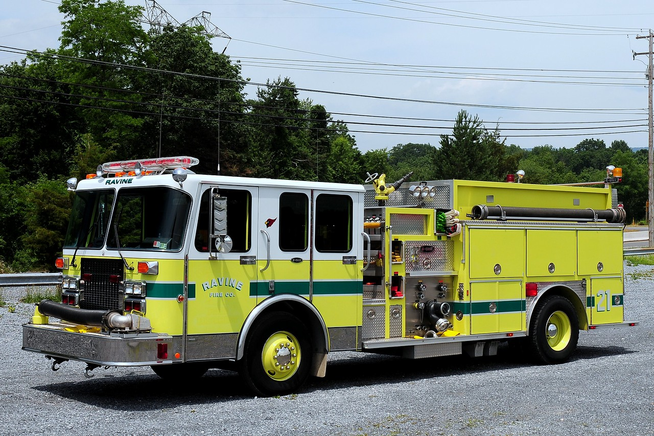 Ravine  Fire Co  Engine 2110  1990 Spartan/ Emergency-One