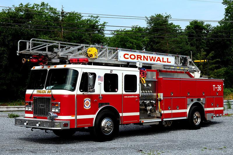 Cornwall Fire Co  Truck  26  1997 Emergency-One  1250/ 500 75 ft