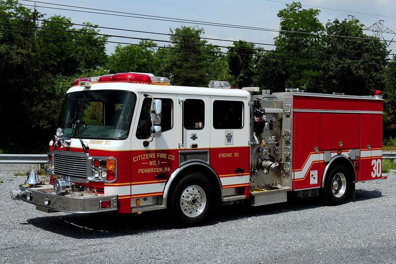 Citizens Fire Co   Engine 30  2004  American La France  1500/ 600
