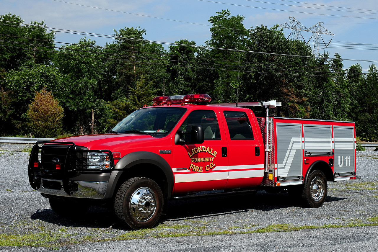 Lickdale Community Fire Co   Utility  11  2005 Ford F-550