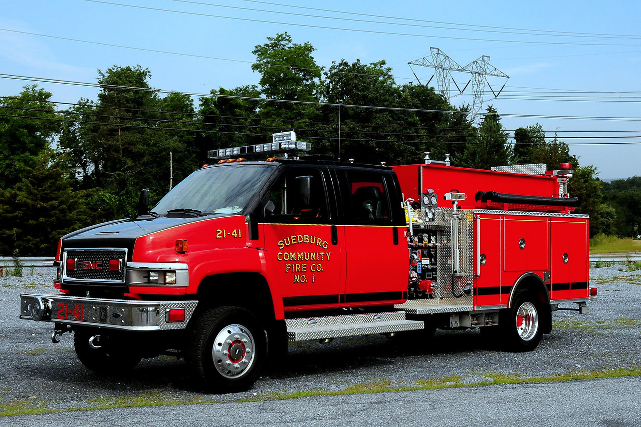 Suedburg Community Fire Co   Brush  2141  2009 GMC/Pierce 500/ 250