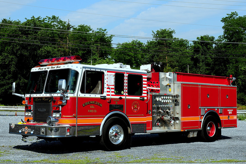 Ebenezer Fire Co  Engine 9 1993 Spartan  1500/ 750  ex- East Greenville,Pa