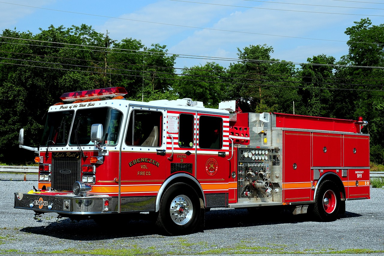 Ebenezer Fire Co  Engine 9 1993 Spartan  1500/ 750  ex- East Greenville,Pa
