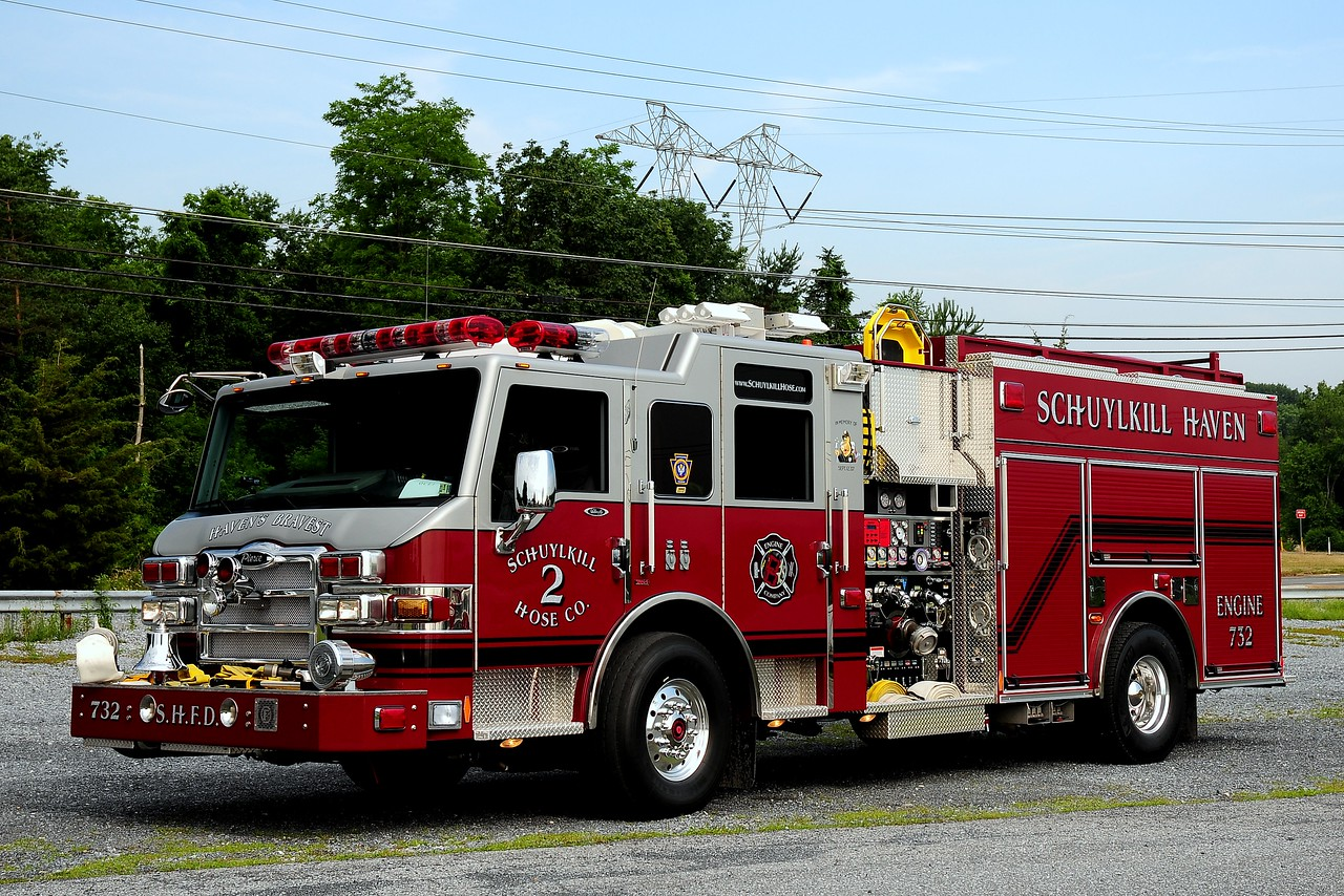 Schuylkill Haven Hose  Co  2   Engine  732  2008 Pierce velociy  2000/1000