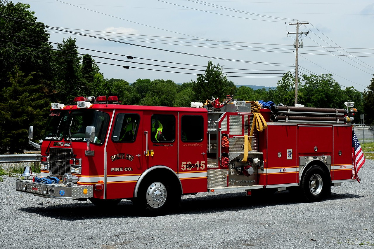 north end Fire Co  Engine  5015  2006 Emergency-One  1250/ 750  ex Monticello , MIS