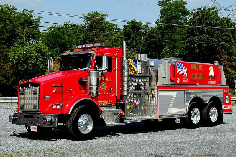 Fisherville Fire Co  Tanker 216  2005 Kenworth/ Swab  1750/ 3000