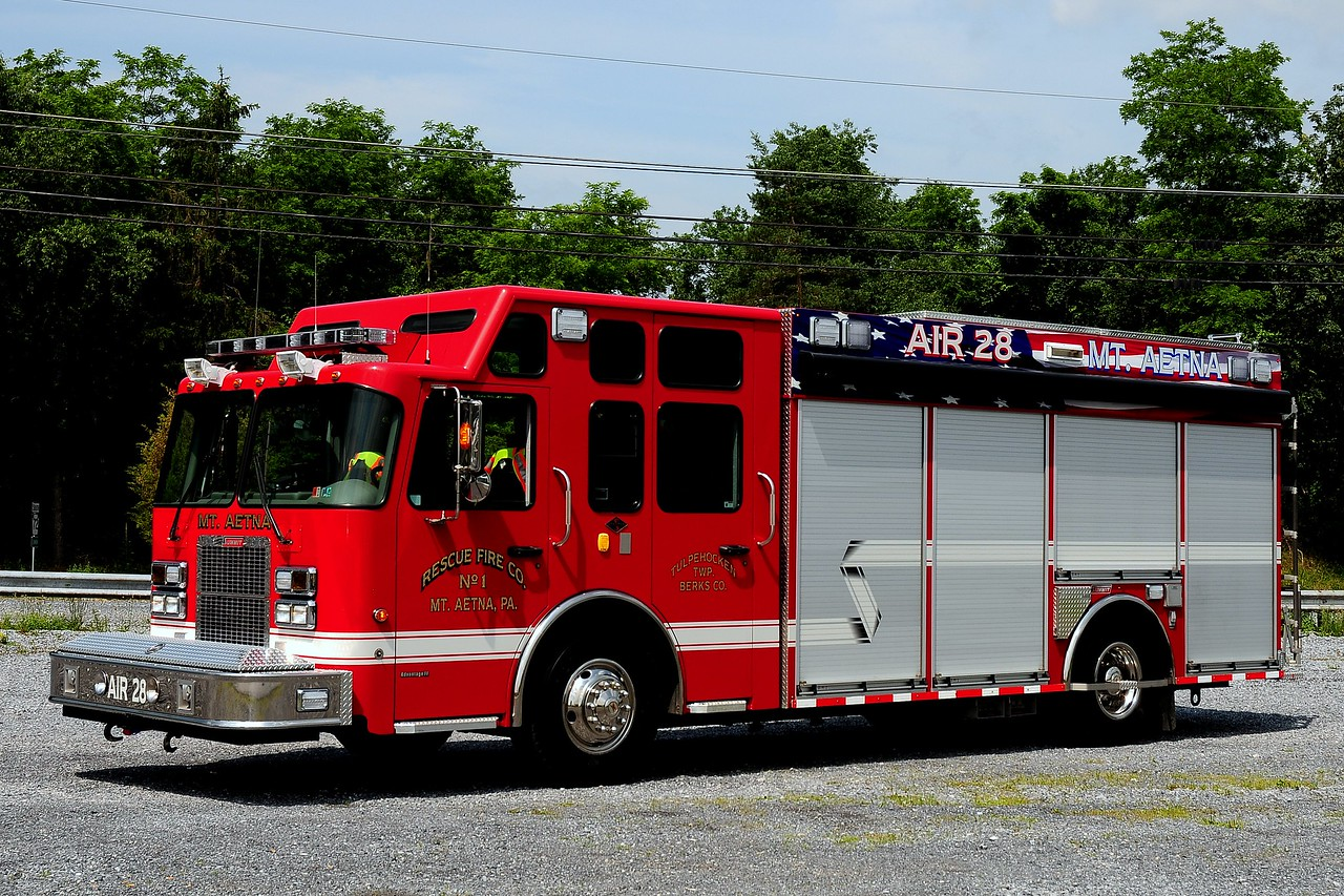 Fire Rescue  co  of  Mt Aneta Pa  Air  28