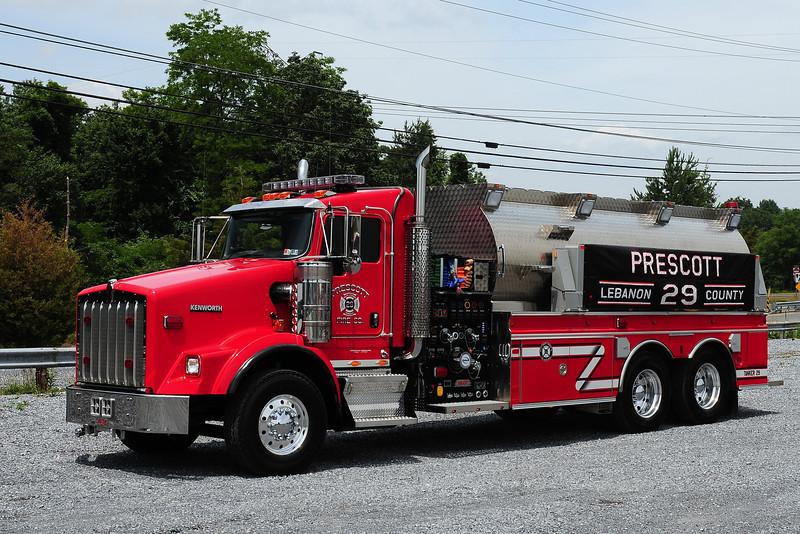 Prescott Fire Co  Tanker 29  2008 Fast/ 2006 Kenworth 1500/ 3500