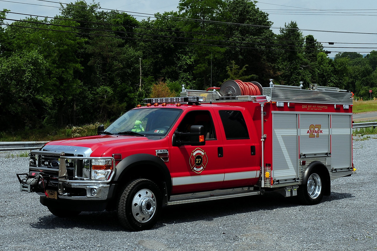 Avon Fire Co  Attact 27  2010 Ford F-550/ Swab