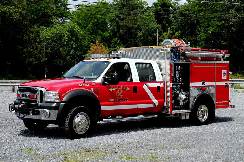 Womelsdorf Fire Dept  Attack  47  2007 Ford  F-550/  $ guys  750/ 300