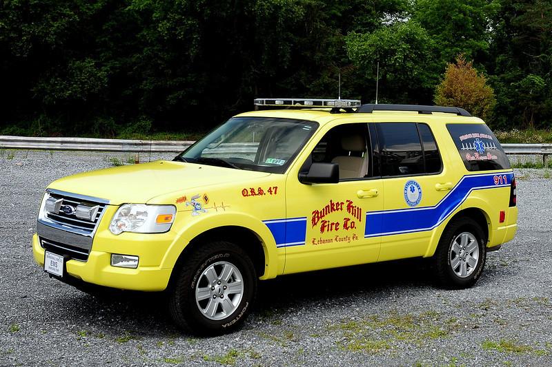 Bunker Hill Fire Co  2008 Ford Explorer