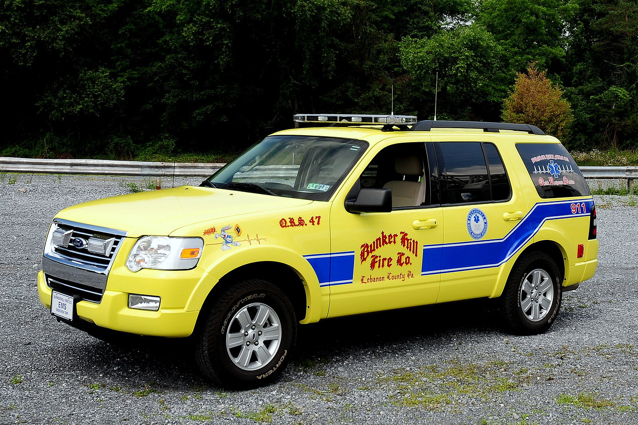 Bunker Hill Fire Co  2008 Ford Explorer