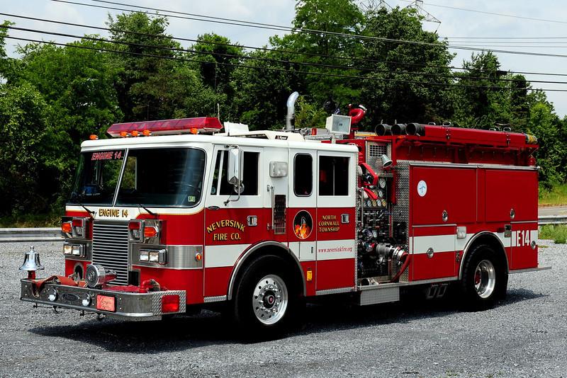 Neversink Fire Co  Engine 14  1992 Pierce Lance   1750/ 1000
