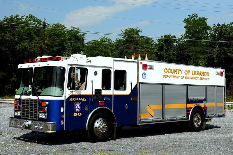 Lebanon County   Squad 50  1999 HME/ New Lexington