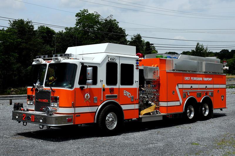 East Pennsboro Fire Dept   Summerdale, Pa   Tanker  2008 KME  2000/ 1800  (Cumberland County)