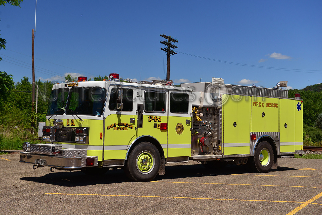ULSTER, PA ULSTER-SHESHEQUIN FIRE CO. 17-ENGINE-2