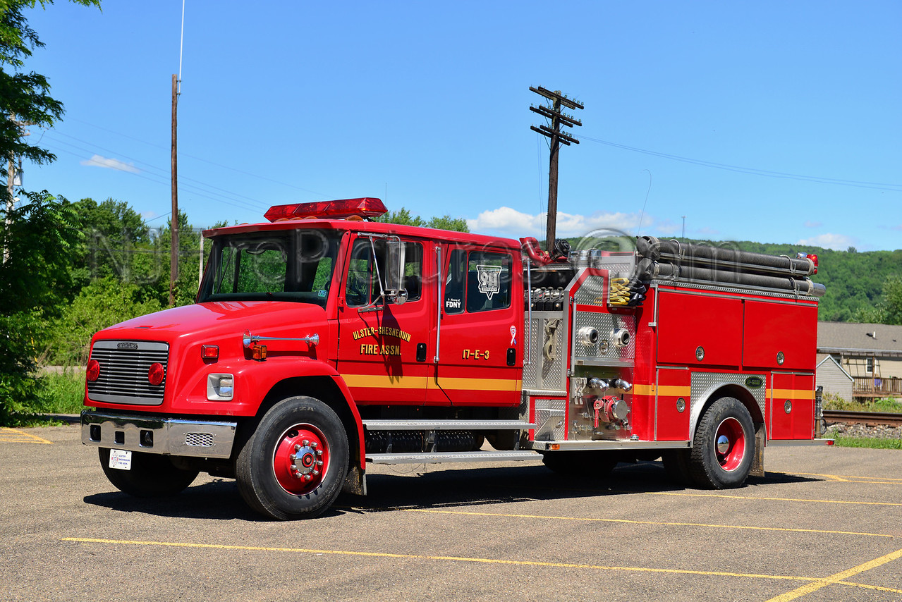 ULSTER, PA ULSTER-SHESHEQUIN FIRE CO. 17-ENGINE-3