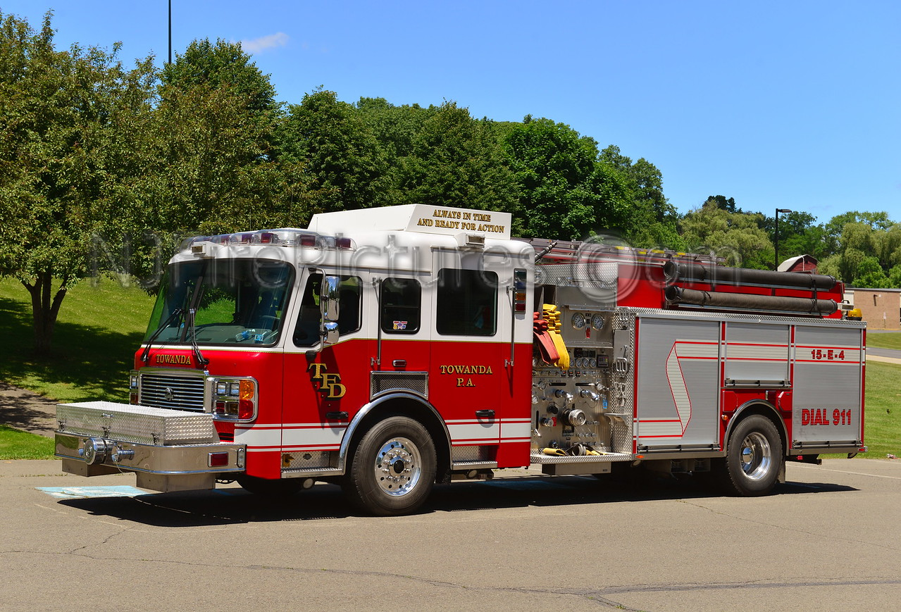 TOWANDA, PA 15-ENGINE-4