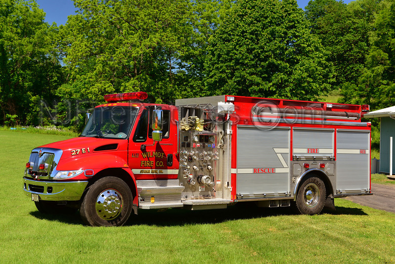 SUGAR RUN, PA WILMOT FIRE CO. 27 ENGINE 1