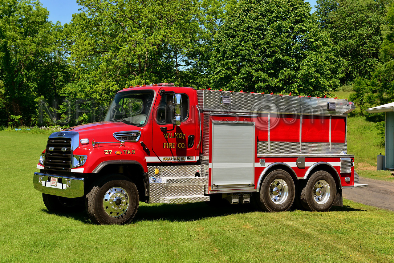 SUGAR RUN, PA WILMOT FIRE CO. 27 TANKER 5