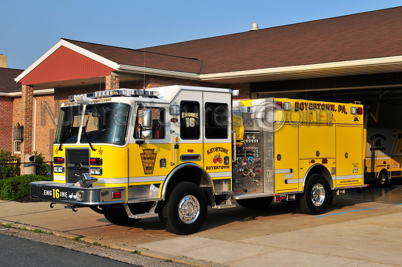 BOYERTOWN, PA ENGINE 16