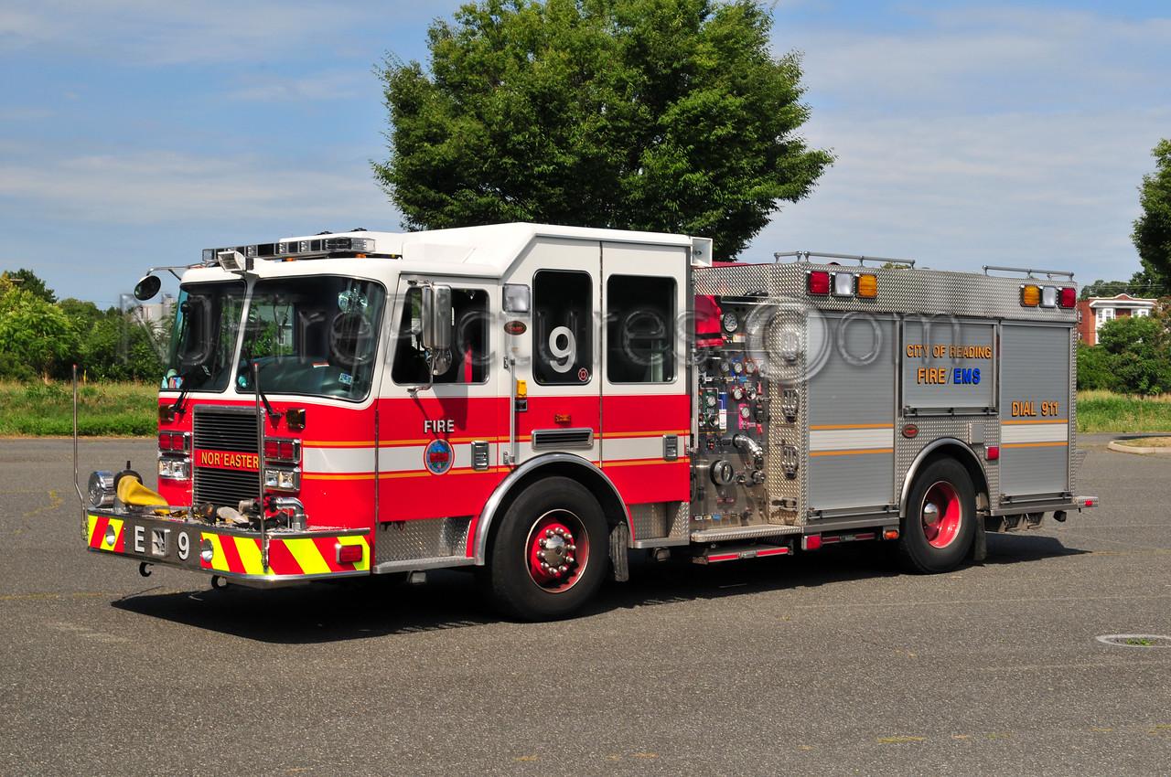 Reading, PA Engine 9 - 2008 KME Predator 1500/500