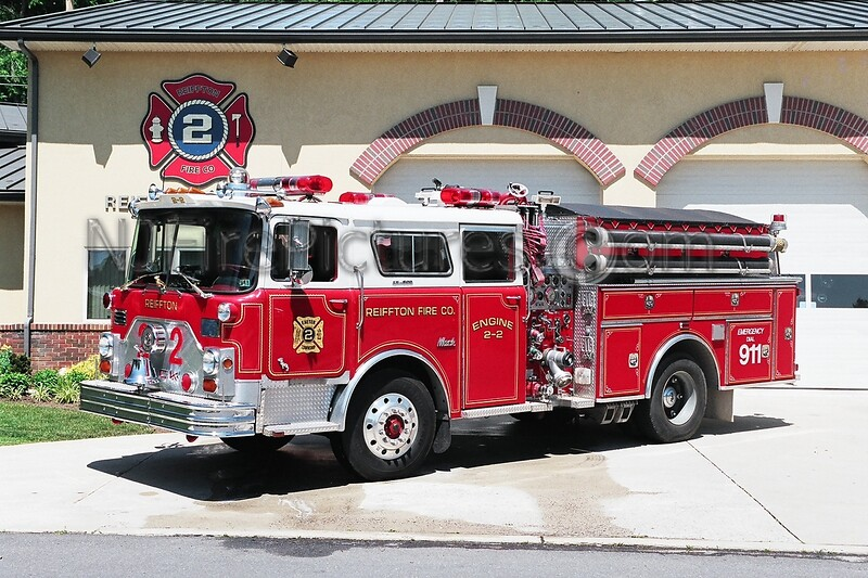 Exeter Twp Engine 2 - 1972 Mack CF/New Lexington1250/500