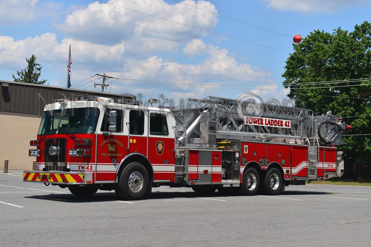 CUMRU TOWNSHIP, PA TOWER LADDER 42 GRILL FIRE CO.