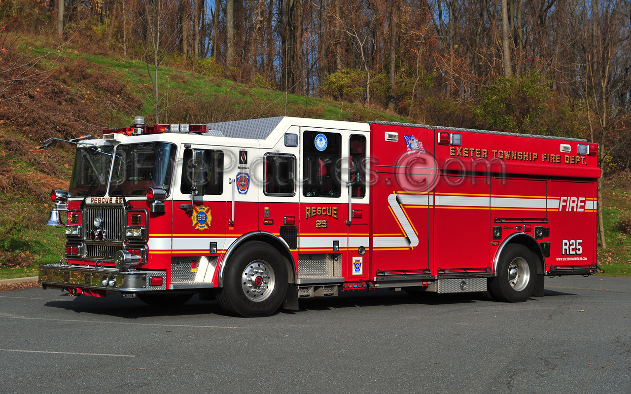 EXETER TWP RESCUE 25 - 2009 SEAGRAVE 1500/500/30