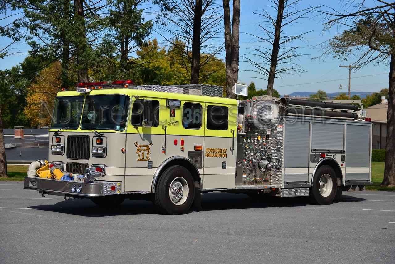 SHILLINGTON, PA RESCUE-ENGINE 36