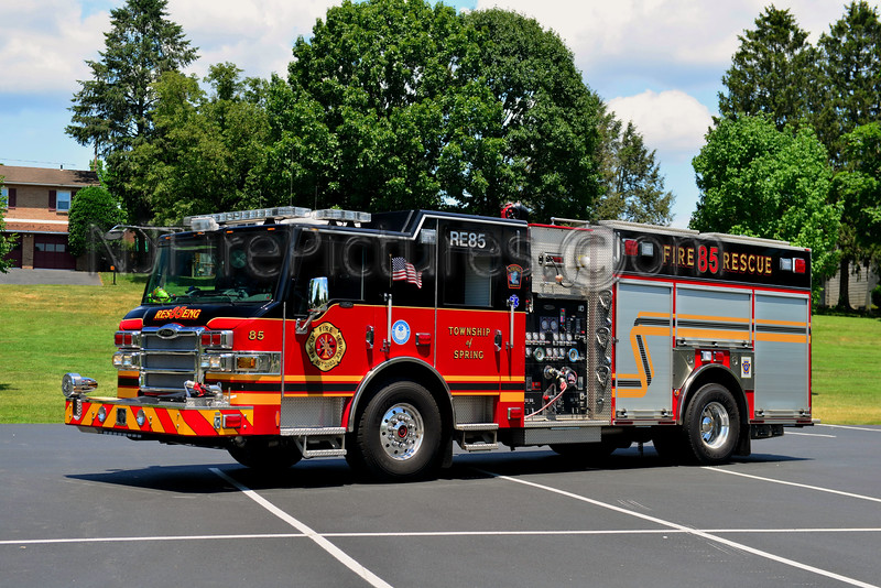 SPRING TOWNSHIP, PA RESCUE-ENGINE 85