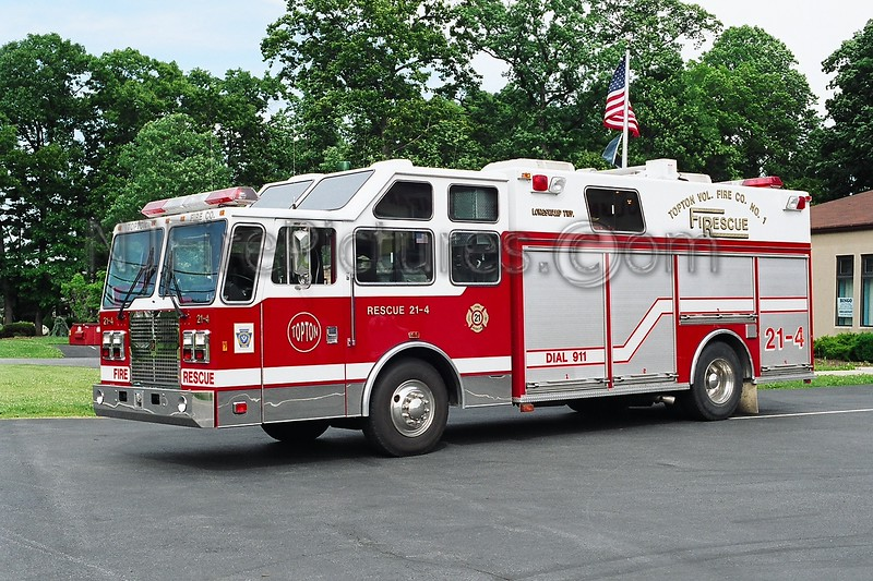 Topton Rescue 21-4 - 1992 International/KME