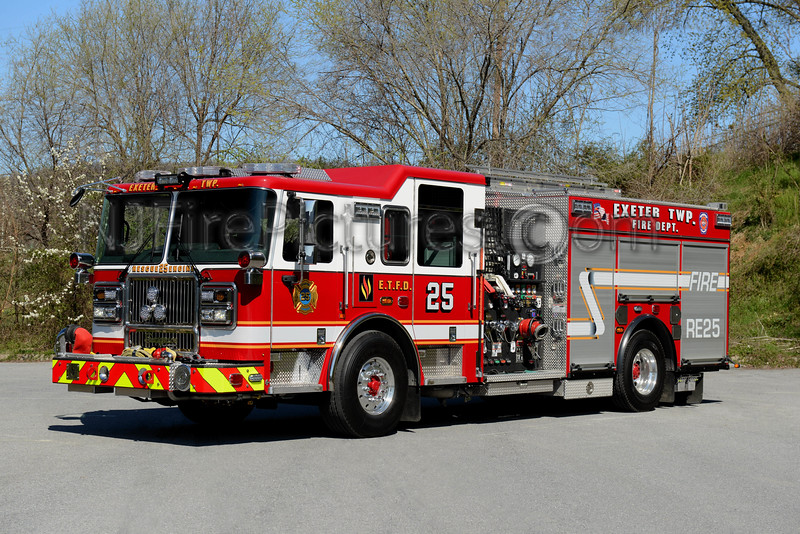 EXETER TOWNSHIP, PA RESCUE-ENGINE 25