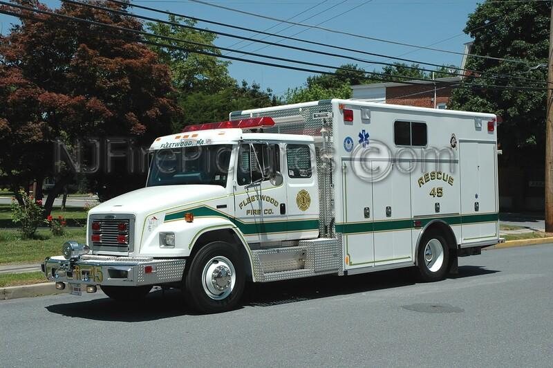Fleetwood - Rescue 45 - 1998 Freightliner/Amtech