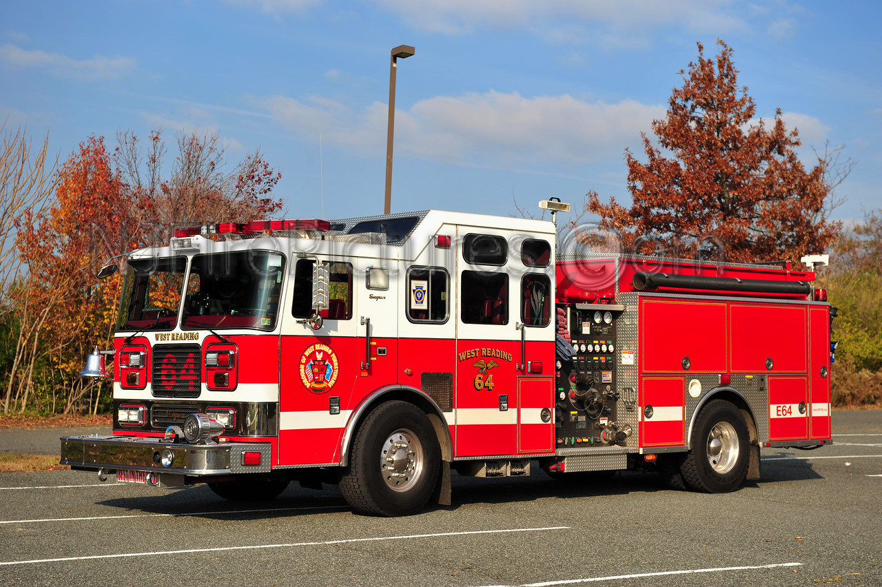 WEST READING ENGINE 64 - 2000 SEAGRAVE 1500/500/40