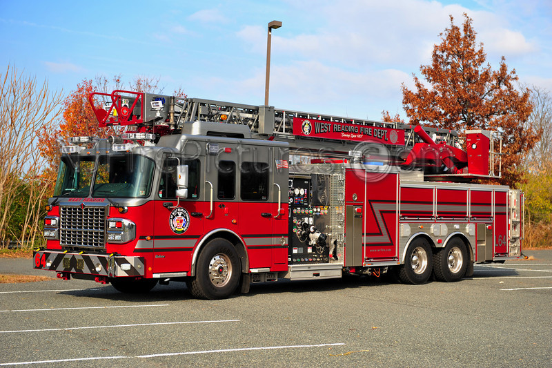 WEST READING LADDER 64 - 2012 SPARTAN/CRIMSON 2000/500/103'