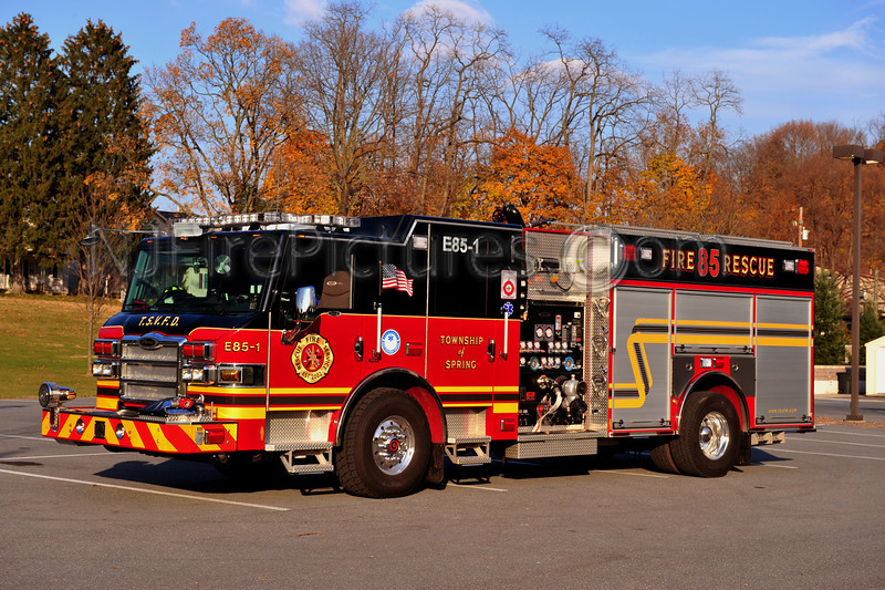 SPRING TOWNSHIP ENGINE 85-1 - 2011 PIERCE VELOCTY 2000/750