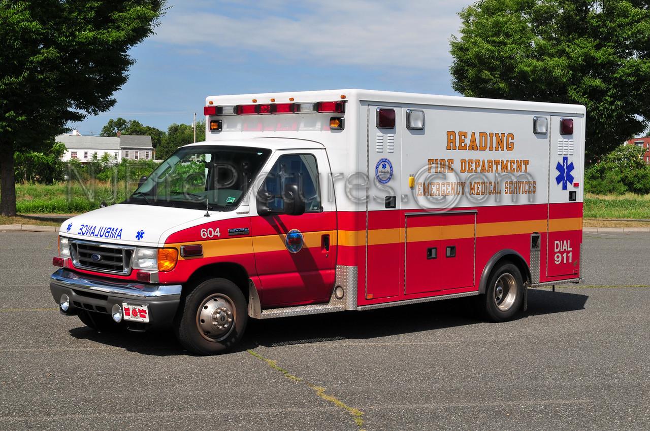 Reading, PA Medic unit