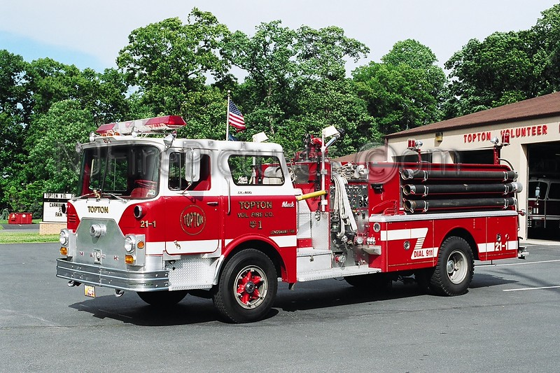 Topton Engine 21-1 - 1971 Mack CF 1000/1000
